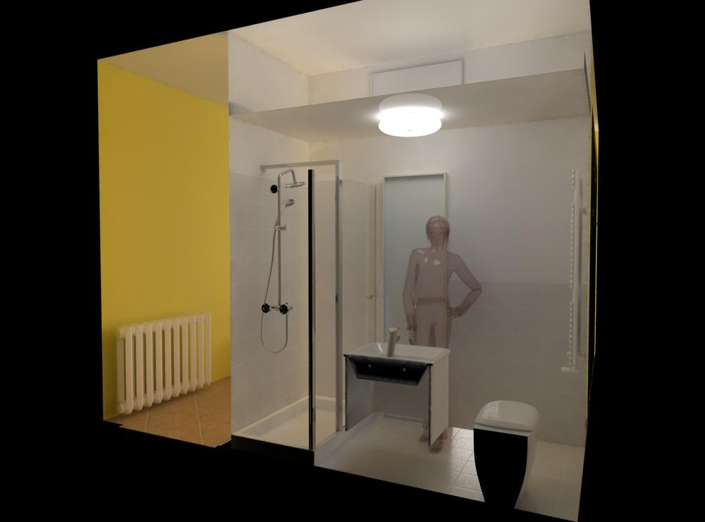 Tilelook camera da letto con bagno - Camera da letto con bagno ...