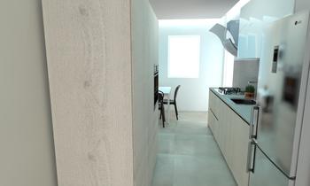 170026 Současný Kuchyň LAKD Lattanzi Kitchen Design