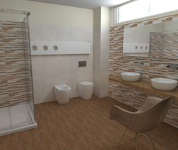 Tilelook: Crimart Srl Bagno Idea Ceramica White And Wood