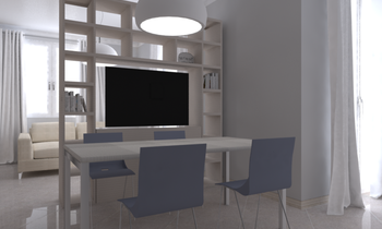 Tilelook: sala e cucina