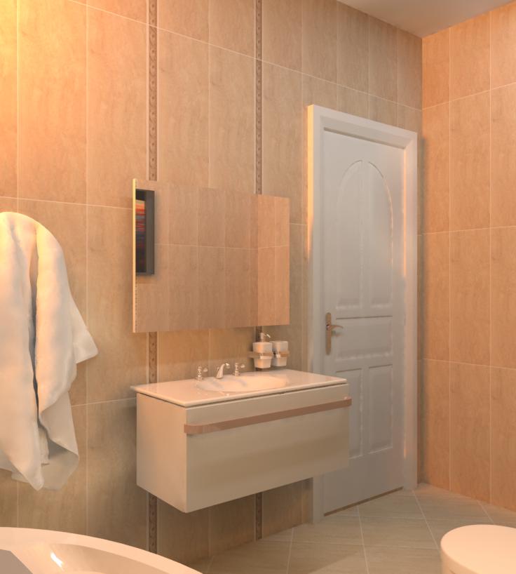 Hsv Moderne Badezimmer Von Ralitza Ostreva Tilelook