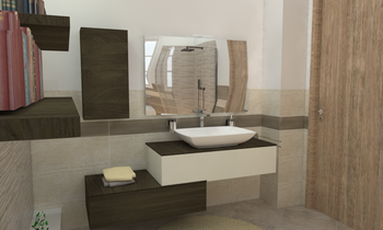 CRIMART SRL Naxos Start P... Modern Bathroom SALVATORE MANGIAGLI Crimart s.r.l.
