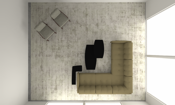 hope Island 2 Classic Living room Vivien Constable