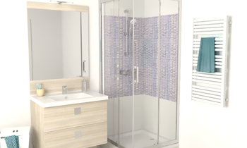 Salle de bain type 1 Classic Bathroom Filippo Fabrello