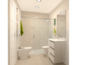 baño ppal m16mm Classic Bathroom Saloni Saloni