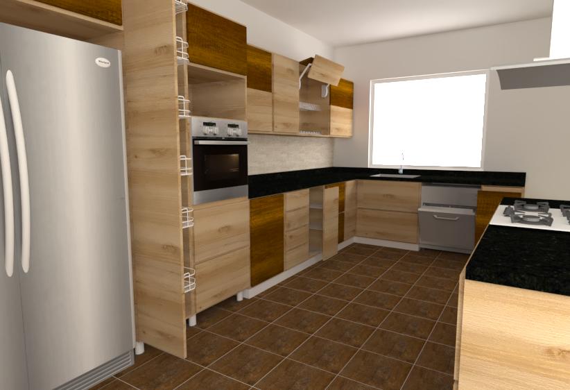 Tilelook casa for Pisende cocinas