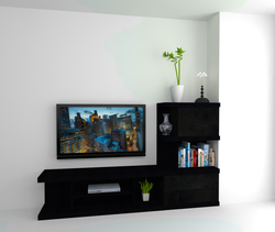 Lohith wall units Classic Living room Andrew Frost