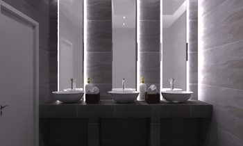 night club bath Modern Bathroom charbel housseini