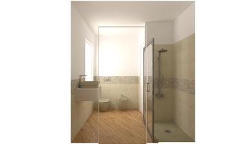 tilelook: bagno con mosaico - Bagni Moderni Progetti