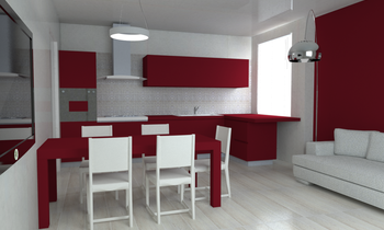 Project 2 Contemporary Kitchen Acquario Due