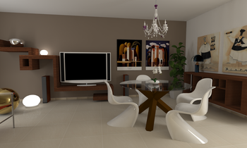 Project 2 Classic Living room 2A immobiliare