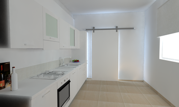 Project 2 Modern Kitchen 2A immobiliare