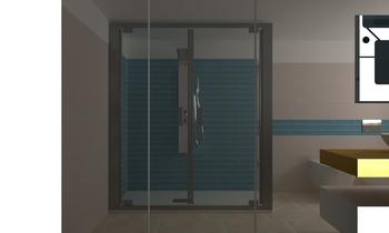 BAGNO metrochic Moderne Salle de bain Roberto Laganaro