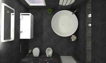 Tilelook: Bagno Moderno con Vasca