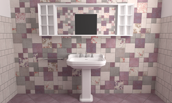 Cotto Vogue Romantic Bathroom Serenissima Cir