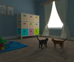 Legni Scuro Baby room Modern Bedroom Sandor Berger