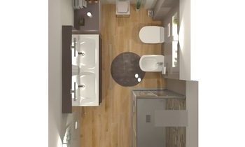 WALL ART , PLAY , INTERIO... Modern Bathroom Ceramiche Masala sas