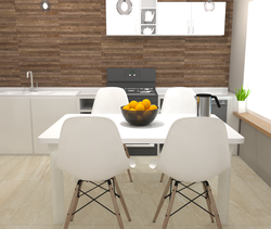 Vancouver Wall Natural Ki... Modern Kitchen Gayafores Porcelain Tiles
