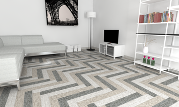 Digialart living room Eclectic Living room Ceramica Sant'Agostino