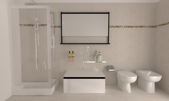 PDM Modern Bathroom LAKD Lattanzi Kitchen Design