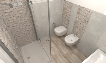 bagno33 Contemporary Bathroom Umberto Giani