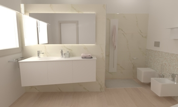 104 Contemporary Bathroom LONGO SRL Superfici & Arredo