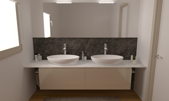 106 Contemporary Bathroom LONGO SRL Superfici & Arredo