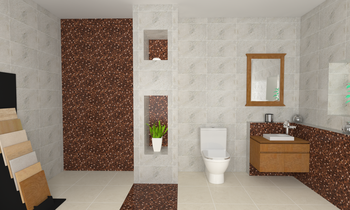 Coco Marron Modern Bathroom Pisende .