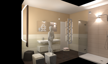leone 1 Eclectic Bathroom Davide D'Orso