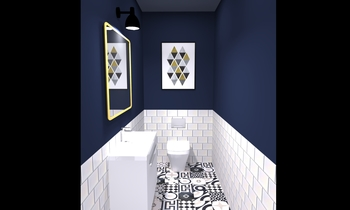 Restroom-Cento W Moderno Bagno Tile Asia Limited