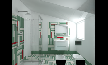 Project 4 Eclectic Bathroom Francesca e Andrea Des Design