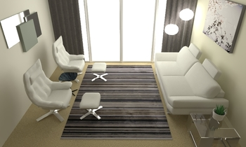 U Hallway Modern Living room Natuzzi italia HoF Reading