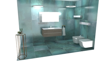 . Contemporary Bathroom simone incerti