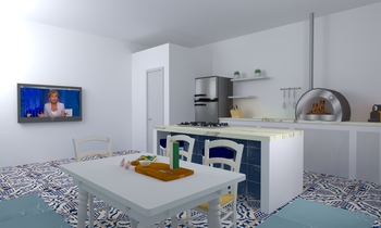 mbarbera new Modern Kitchen Aiello Ceramiche