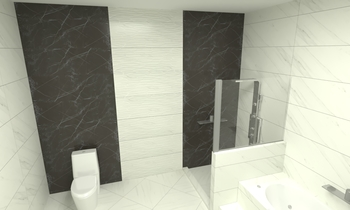 AUGUR CONT. MASTER BATH Modern Bathroom OBEID GENERAL TRADING