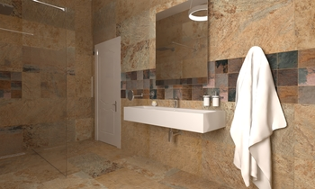 osama . rawad design Modern Bathroom Zarrugh Company