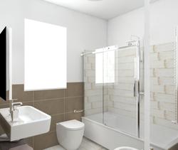 Blendart white 15120 - Piastrelle bagno altezza 120 ...