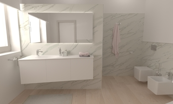 120 Contemporary Bathroom LONGO SRL Superfici & Arredo