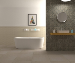 bozzetto test Tile Look Classic Bathroom Patrick Wolf