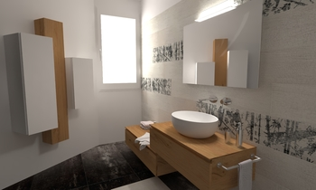 122 Contemporary Bathroom LONGO SRL Superfici & Arredo