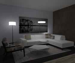 Project 2 Contemporary Living room Ramez  Saad