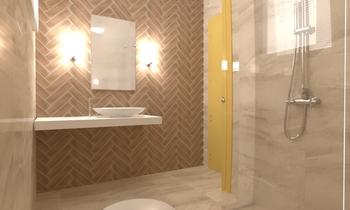 Project 2 Eclectique Salle de bain Donart Sahiti