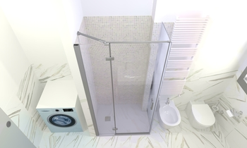 Tilelook: Bagno nuovo effetto marmo