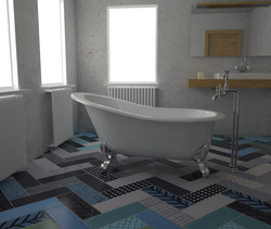 Mix Match #cool Eclectic Bathroom Ornamenta Ceramiche