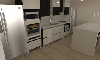 cocina Contemporary Kitchen Pisende Udea Pisende Udea
