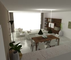 Borghese Modern Living room job prijt
