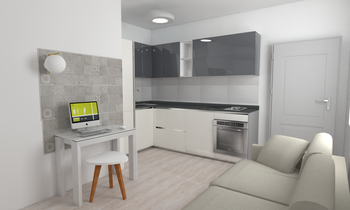 project 2 Modern Konyha LAKD Lattanzi Kitchen Design