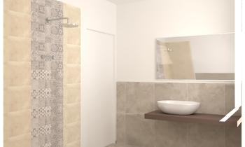Silvia Golin Classique Salle de bain monica marigo