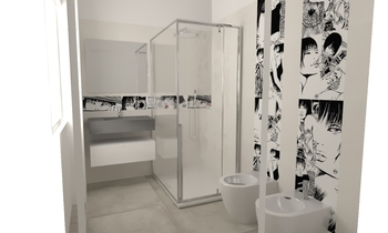 Tilelook bagno piccolo lupin