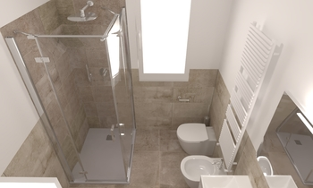 Bagno tipo 1 H Contemporary Bathroom Ettore Brolese